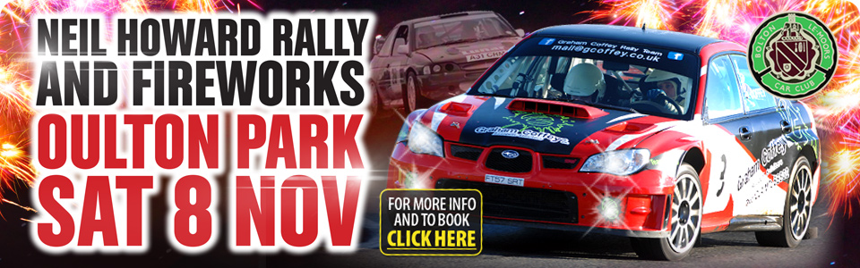 Neil Howard Stage Rally - Oulton Park