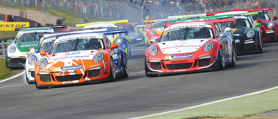 Porsche Carrera Cup Great Britain