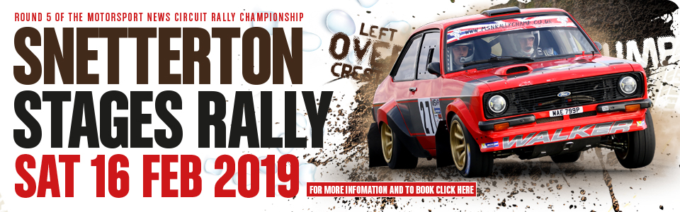 Snetterton Stage Rally