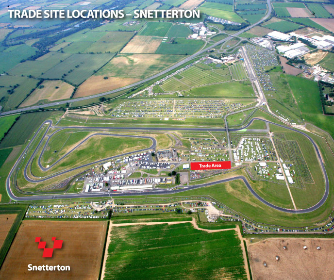 Snetterton Trade Site Locations